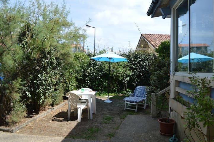 60m2+jardin-à 200m océan et lac - Vieux-Boucau-les-Bains - Apartamento