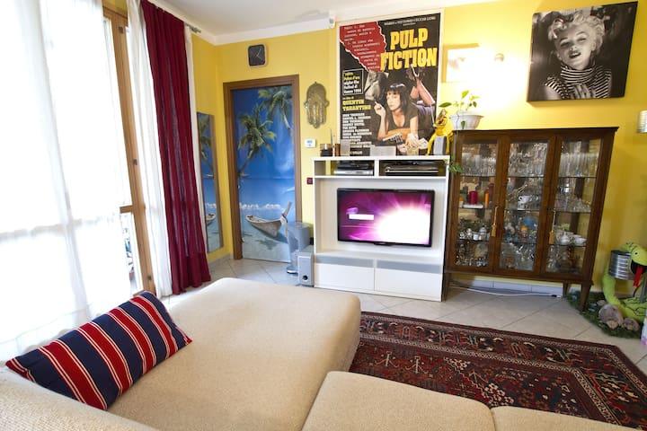 Rent single room Malpensa airport. - Cardano Al Campo - Apartament