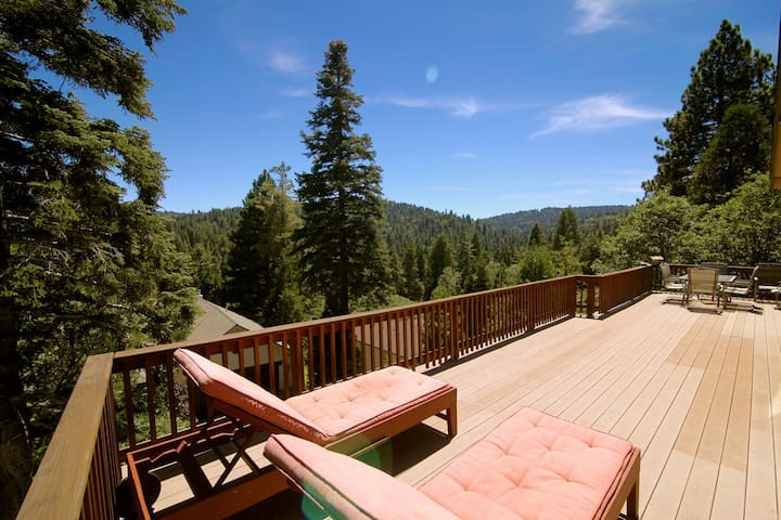 Maplewood Lodge - Lake Passes Included! - Lake Arrowhead - Blockhütte