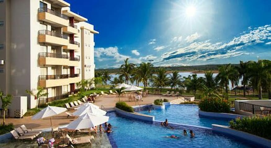 Marina Flat & Náutica 2qtos/7hosp - Caldas Novas - Apartemen