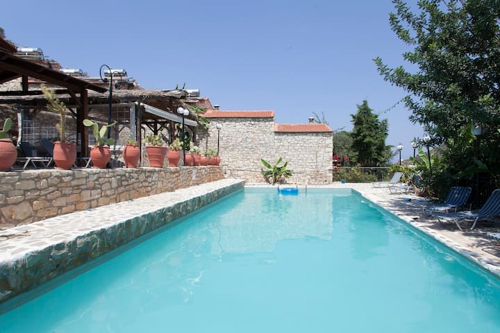 SV【Free Breakfast & Dinner】Couple's Getaway*WiFi! - Vlichada, Bali, Rethymno - Bed & Breakfast
