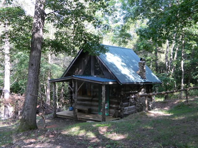 Primitive Log Cabin in the Woods - Anderson - Blockhütte