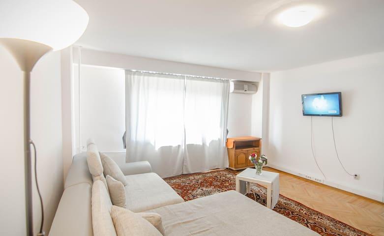 Central Unirii Sunny 2 Rooms Apartment - București - Lägenhet