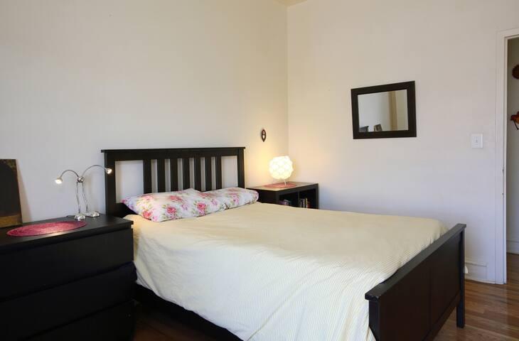 An Upper-Manhattan room of your own!