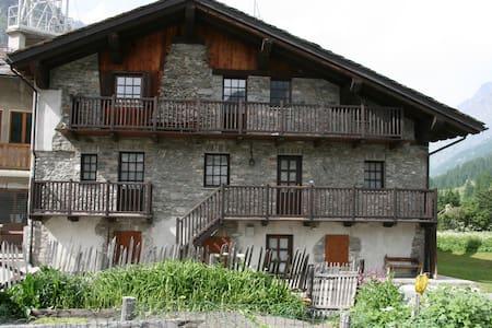 Wohnung Vista Granta Parey - Rhêmes-Notre-Dame - อพาร์ทเมนท์