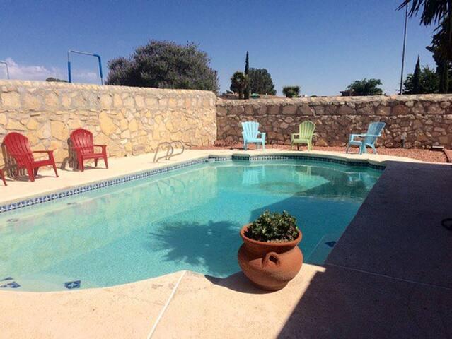 Private Back-yard pool