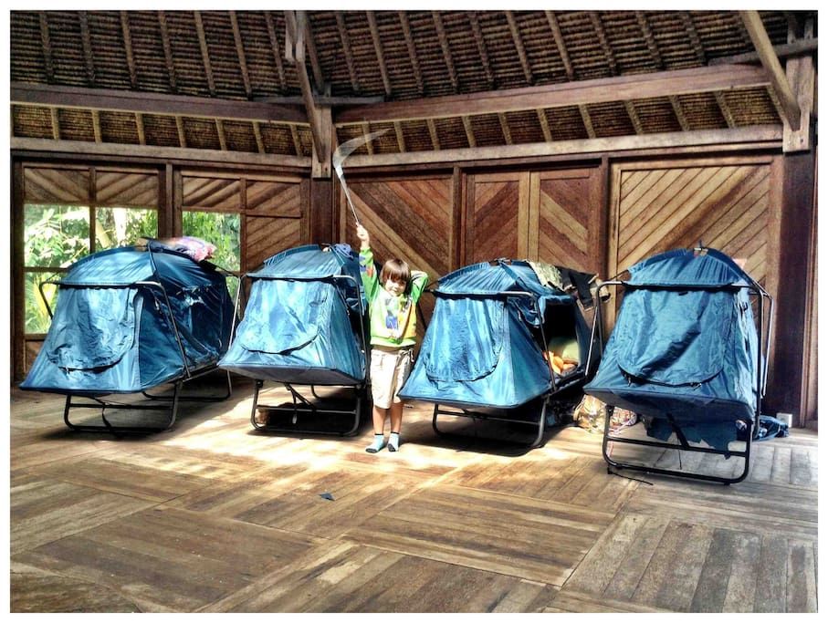 Glamping Pods waiting for you.
