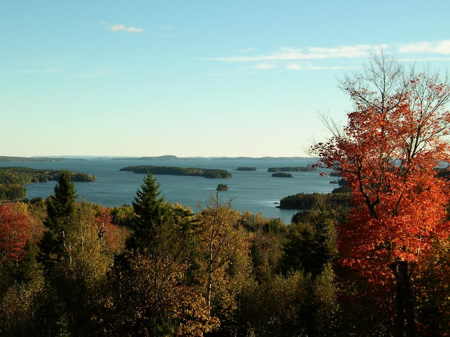 Passamaquoddy Bay from our back yard
