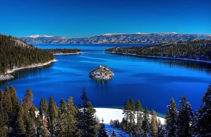 Tahoe City 2bd/1.5ba ski condo.
