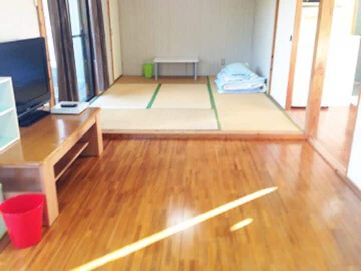 2dk貸切!海まですぐ!快適なアパートです。沖縄恩納村の民宿美ら海くん!