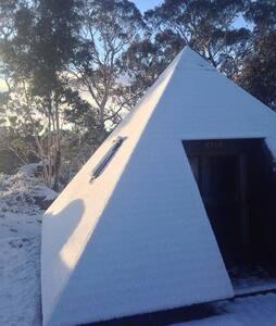 Pyramids in the Australian bushland - Bolaro