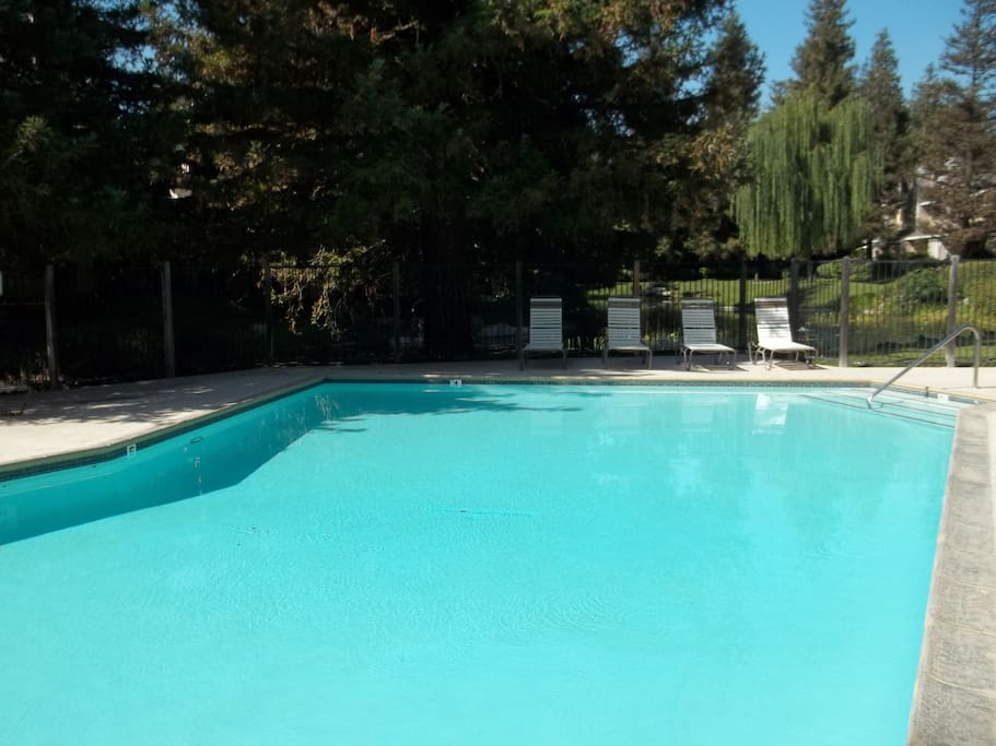 Community pool - come on in!
