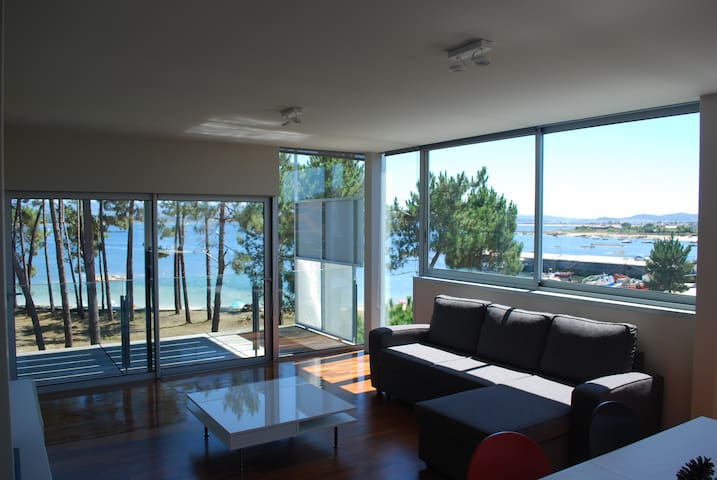 Beautiful sea views on an island - Illa de Arousa - Apartamento