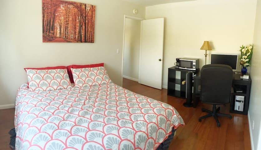 King bed at a great location - Santa Clara - Casa