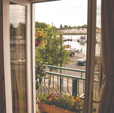 All our accommodation has full views of the River Shannon