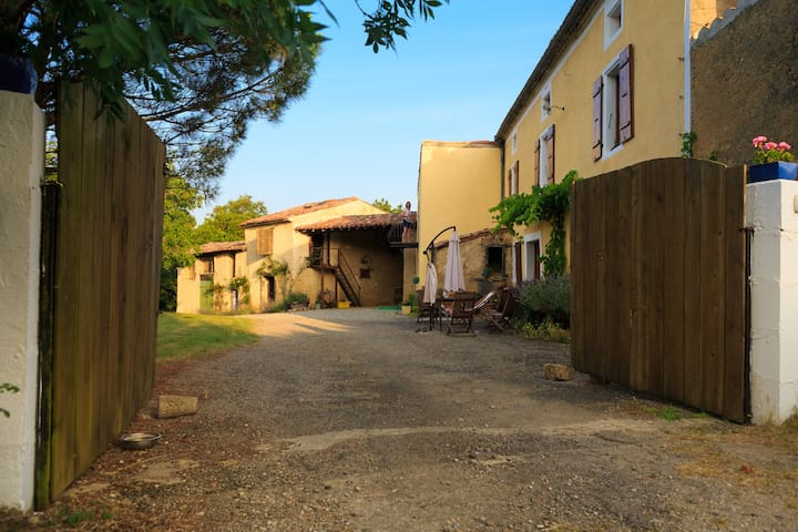 Farmhouse with Pyrenean Views - Villautou - Dom