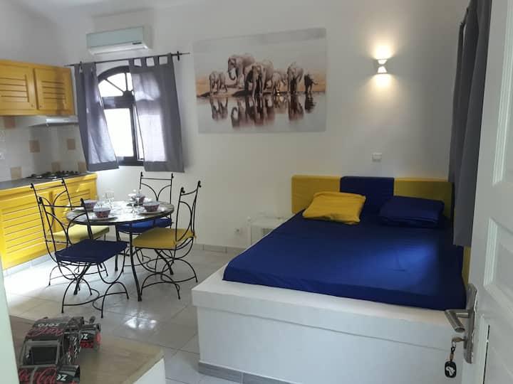 """Studio """"Samba"""" residence Natangue -  Saly."""