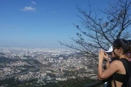 Casa no Pico do Jaraguá para temporada em SP