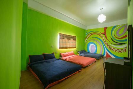 綠色6人房 - Lanyu Township