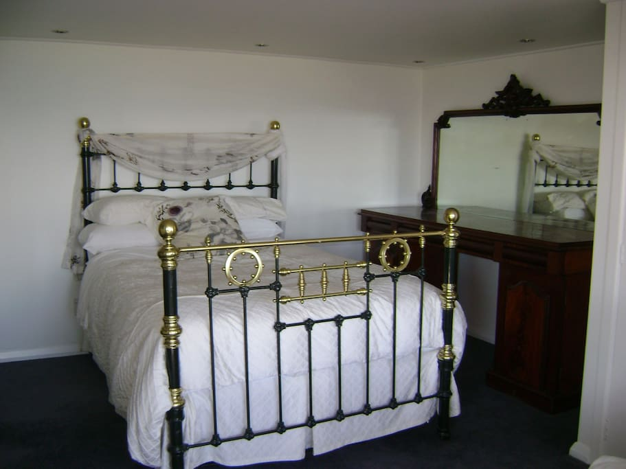 Bedroom One Indulge in our original brass bed