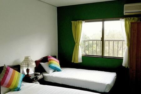 Seaside Twin room 05 - Taketomi - Huvila