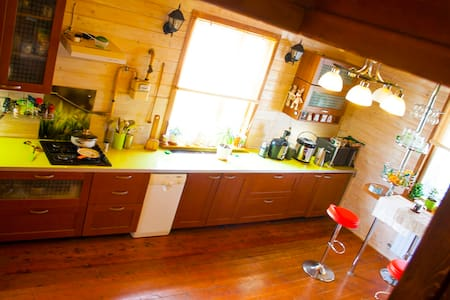 Комфортабельный дом с баней на дровах - Флора-2 Снт
