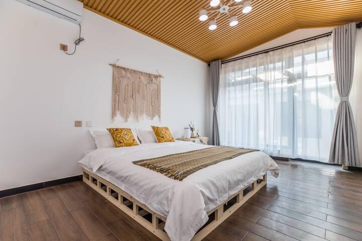 【清舍】摩洛哥风格  落地窗阳光房 街中心地段 独立房间