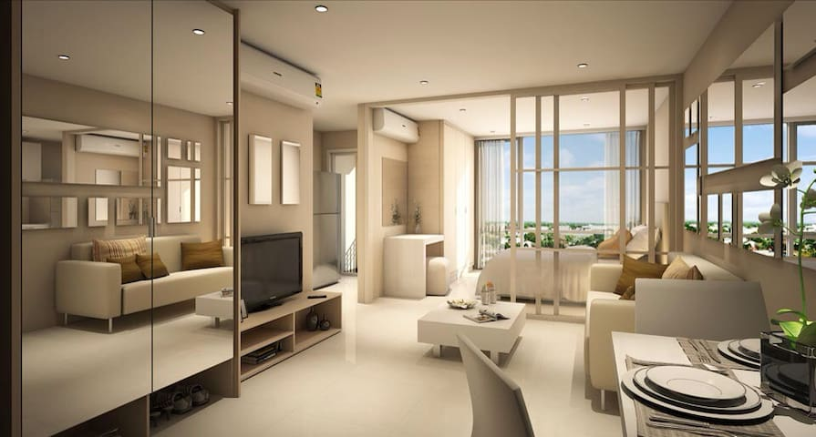 The Element Condo near Seacon Mall - Pravet - Apartamento