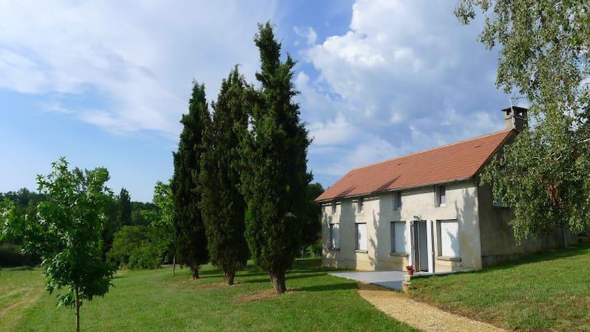 Maison pour visiter Lot et Dordogne - Gourdon