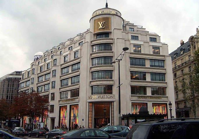 SPECIAL OFFER ARCH TRIUMPH CHAMPS ELYSEES 4 GUESTS - Paris - Lägenhet