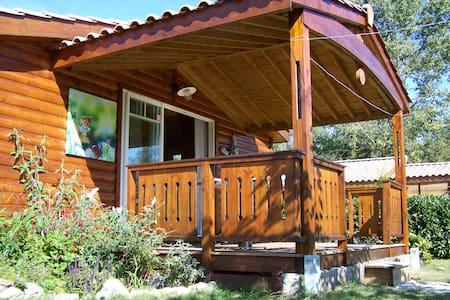Luxe en rustig gelegen chalet - Pons - บ้าน
