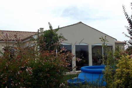 Maison confortable proche de Jarnac - Les Métairies