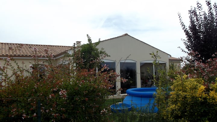 Maison confortable proche de Jarnac