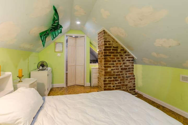 Charming Attic Room in Richmond - Richmond - Casa