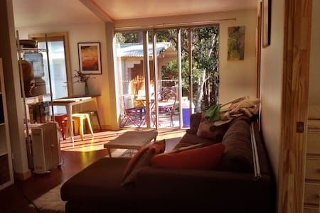 Peaceful Mullum 3br. Forest Retreat -  Cabin & Apt - Wilsons Creek