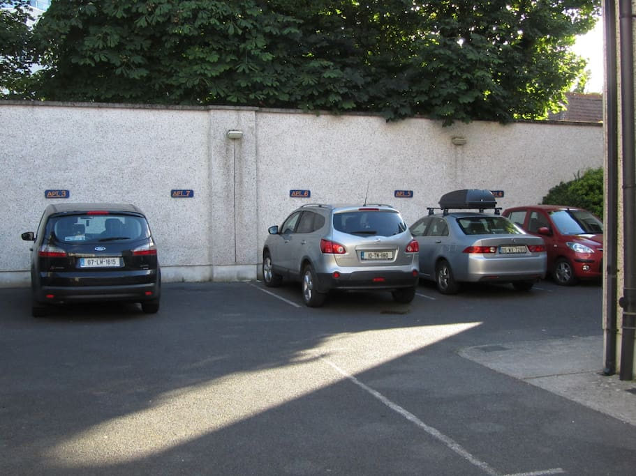 Car park in complex
