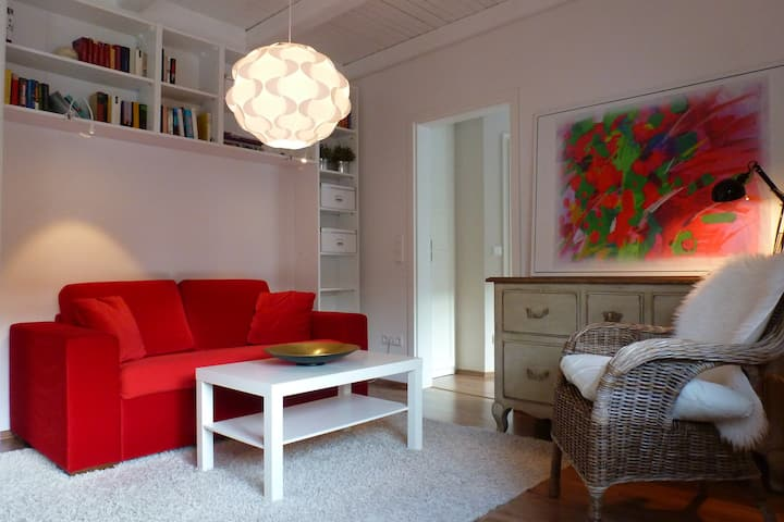 The Hidden Home, Appartement 2 mit Dachterrasse