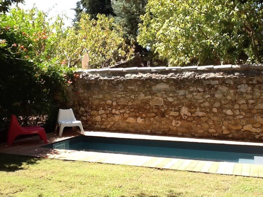 Grande chambre avec terrasse priv e chambres d 39 h tes - Chambre d hote marseille avec piscine ...