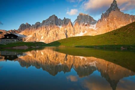 Grazioso appartamento Dolomiti - Ziano di Fiemme - Daire