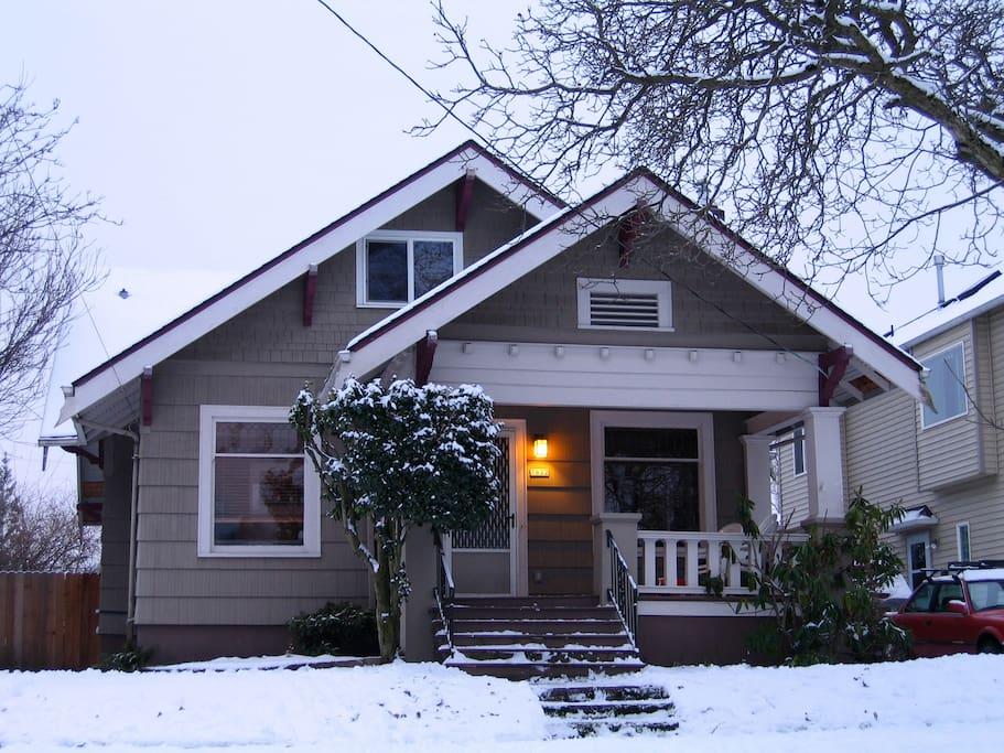Cute craftsman home