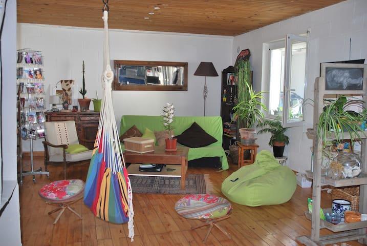 Chambre dans maison chaleureuse - Bizanos - Dom