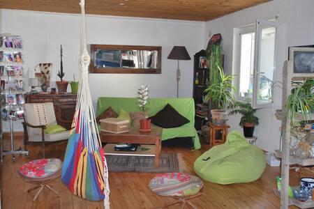 Chambre dans maison chaleureuse - Bizanos