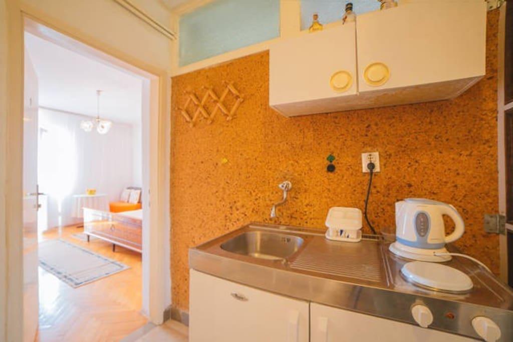 mini kitchen and Beautiful room No.2