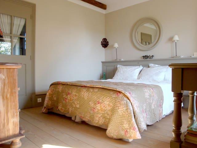 la chambre d' Hugo a la campagne - Champagny-Sous-Uxelles - Talo