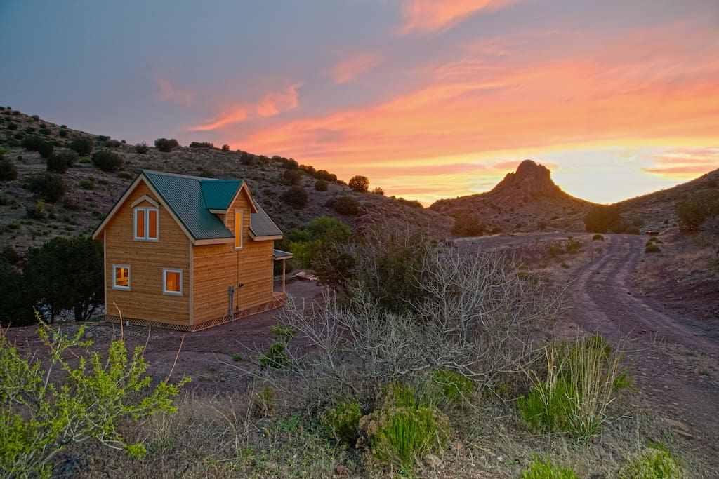 Secluded cabin on a working ranch h user zur miete in clifton arizona vereinigte staaten - Lino 5 metre de large ...