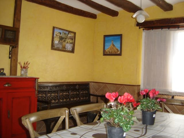 "Habitación 7 "" Zapata ""  Senderismo - Arguedas - Huis"
