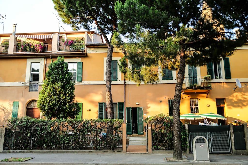 Casa con giardino case in affitto a cervia emilia - Casa con giardino milano ...