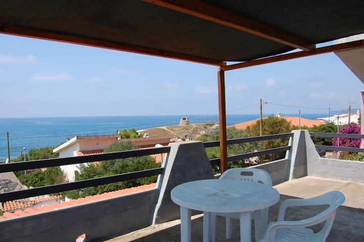 Appartamento terrazza vista mare - Torre del Pozzo - Pis