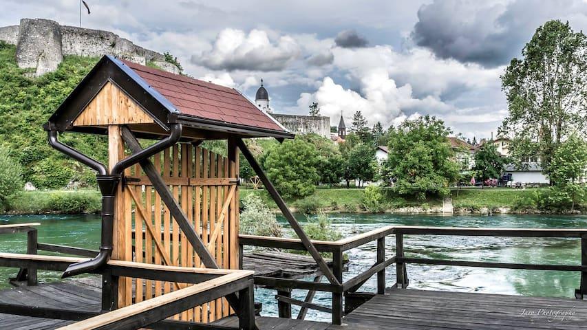 watermill & dwelling pile house10/1 - Bosanska Krupa - Hytte