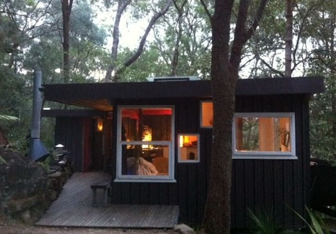 A RIVER SHACK . Luxury Glamping . ARRIVE BY BOAT